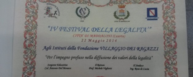 FESTIVAL DELLA LEGALITA'